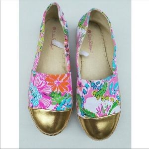 Size 6 Lilly Pulitzer Nosey Posey Espadrilles